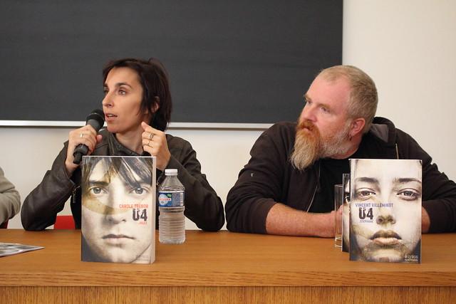 Carole Trébor et Vincent Villeminot - Livre sur la Place à Nancy