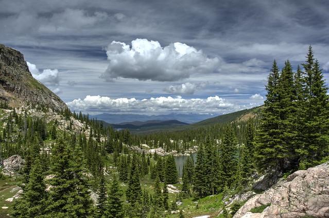Columbine Lake - 1yr later