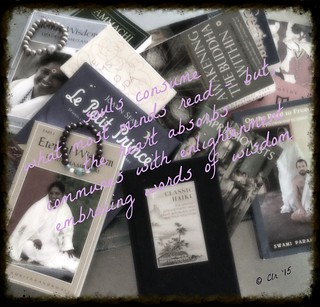 oval Amma and books