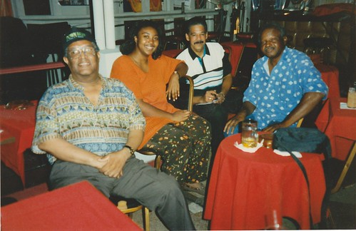 Clinton Scott, Porsche Williams, Jeff Duperon, and K Balewa in 1996