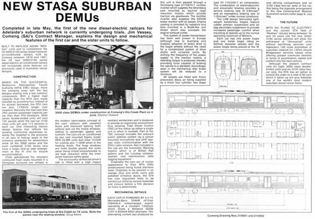 Rail Australia Magazine - 3000 Class DEMU Being Built