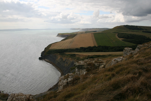 View from Houns-tout Cliff