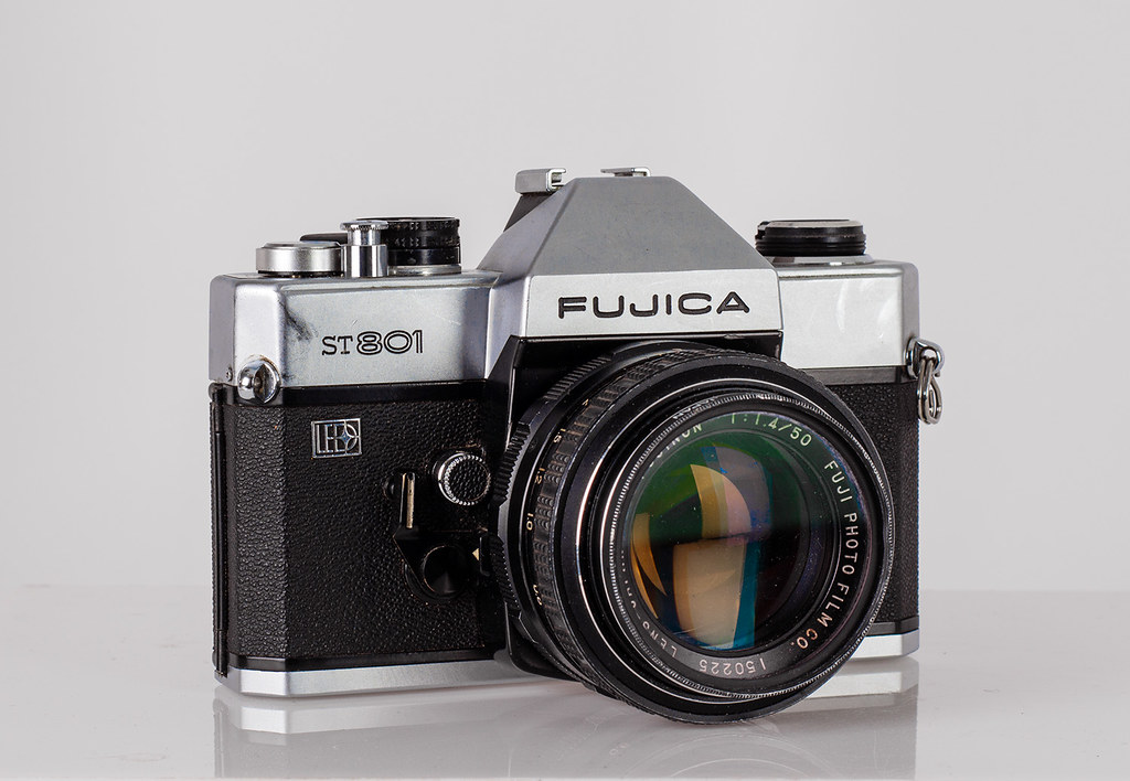 The 1974 Fujica ST801 My Father Bought Me