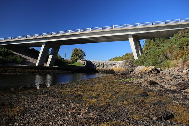The A9 bridge at Loch Fleet