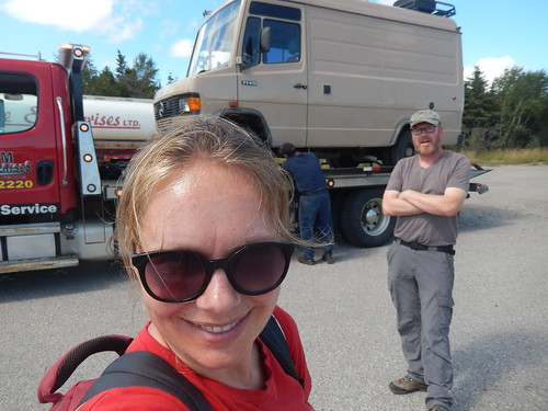 St Fintans - op de sleepwagen - 2