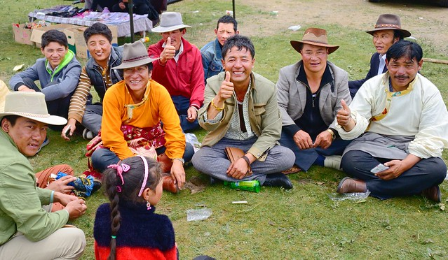 Thumbs Up, Tibet 2014