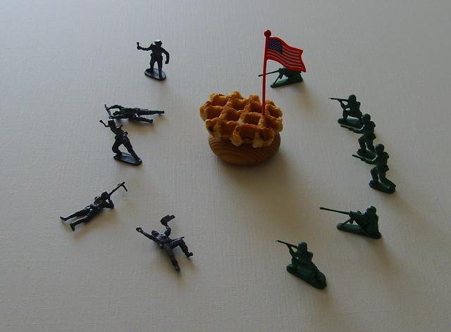 American Waffle War    by Jan Theuninck, 2015