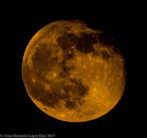Orange Moon.