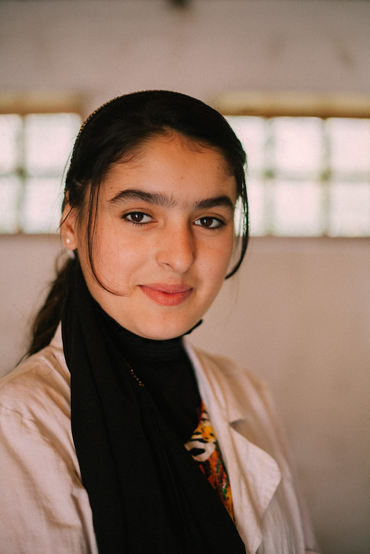 Girl Portrait in Tajikistan
