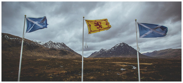Flags in the Wilderness, Glencoe