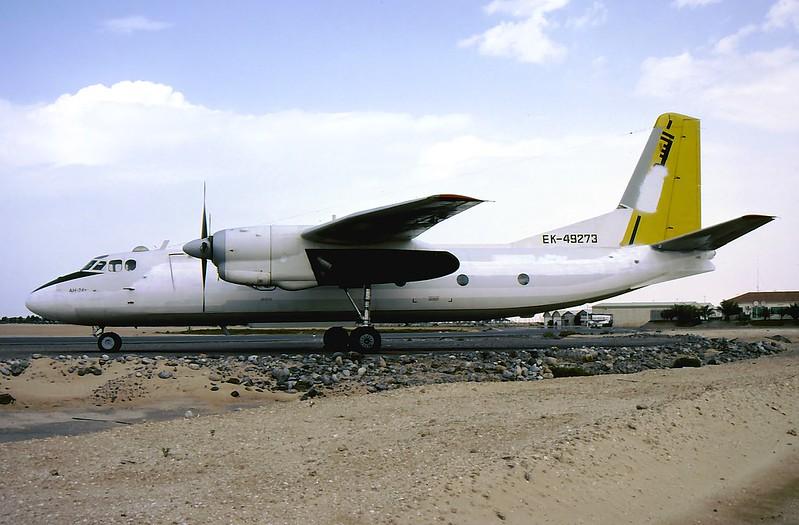 EK-49273 AN-24T ex Sudan Airways Umm Al Quwain 24.3.05