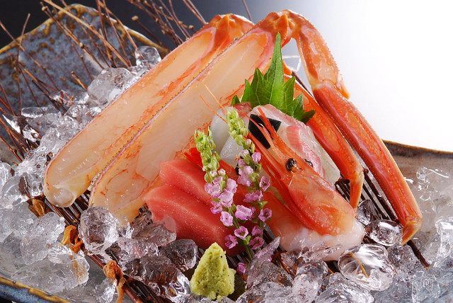 Crab Sashimi