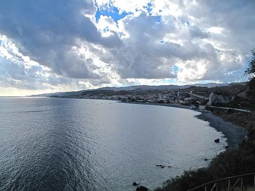bovamarina calabria kalabria italia italy sangiopanza vacanza holiday panorama seascape spiaggia beach paese village