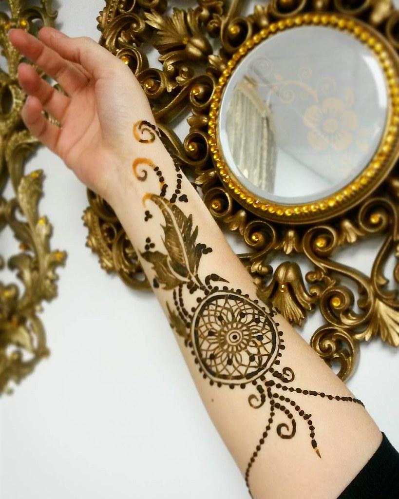 Dream Catcher Henna To Book Halloween 508 369 8797 Call Flickr