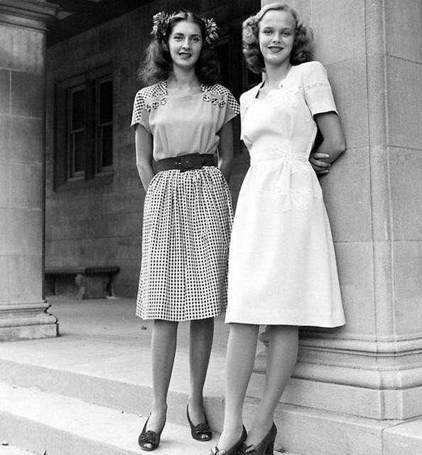 1940's Ladies Dresses