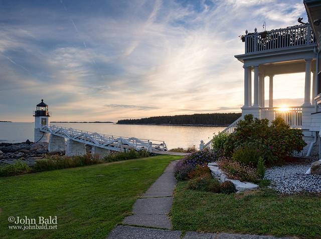 Marshall Point Lighthouse, Port Clyde (St. George), Maine (87379-87380)