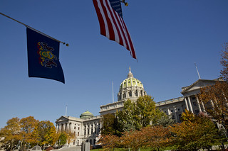 The Pennsylvania State Capitol in Fall | by governortomwolf