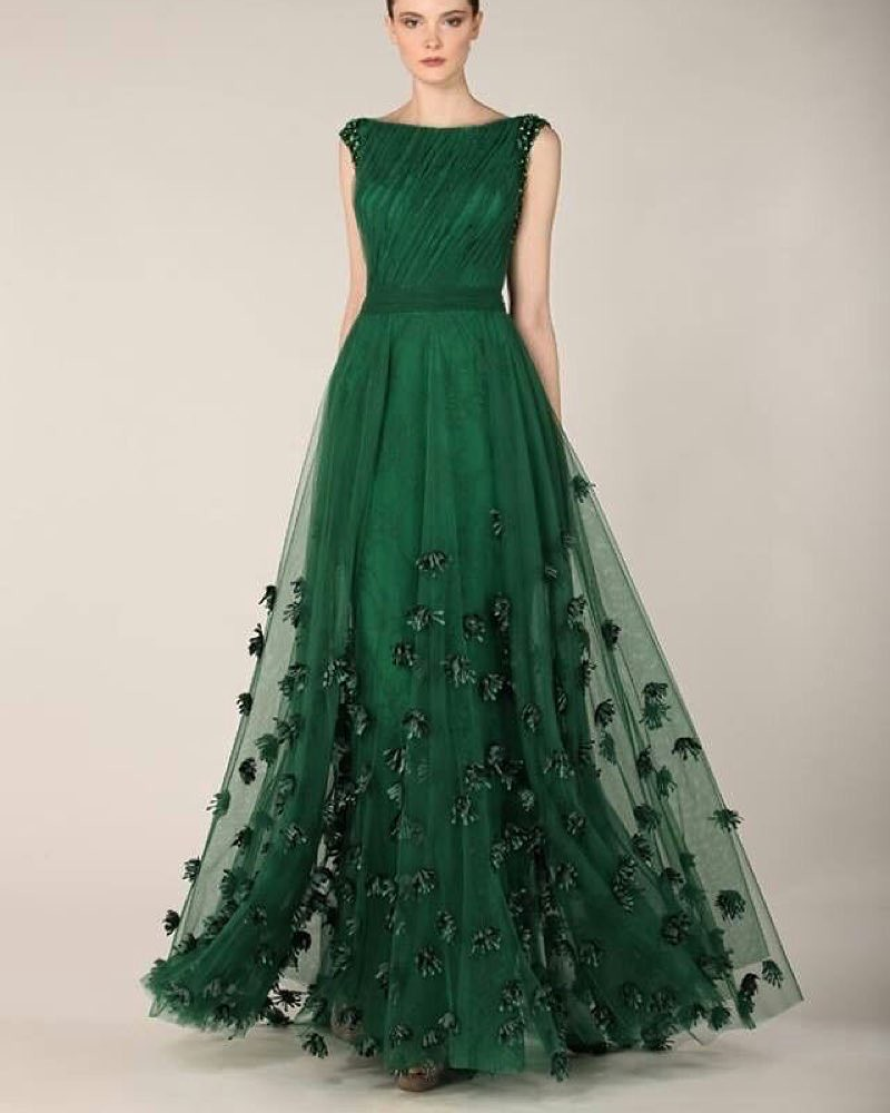 Instagram Gaun pengantin warna hijau mewakili kehidupan