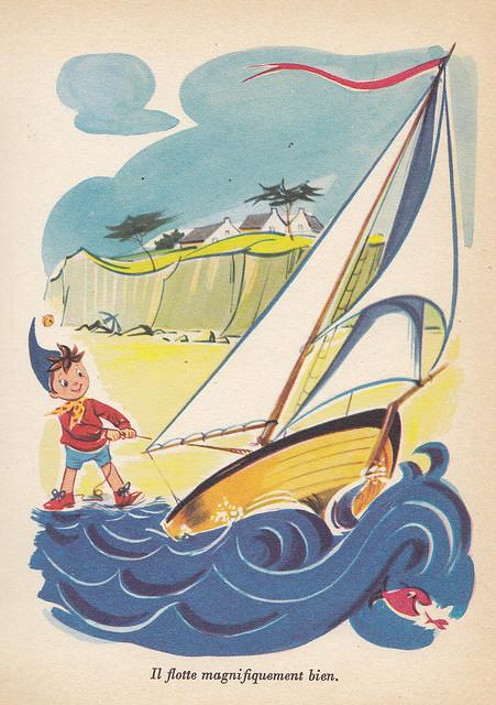 Enid Blyton / Oui-Oui à la plage // Illustration 06