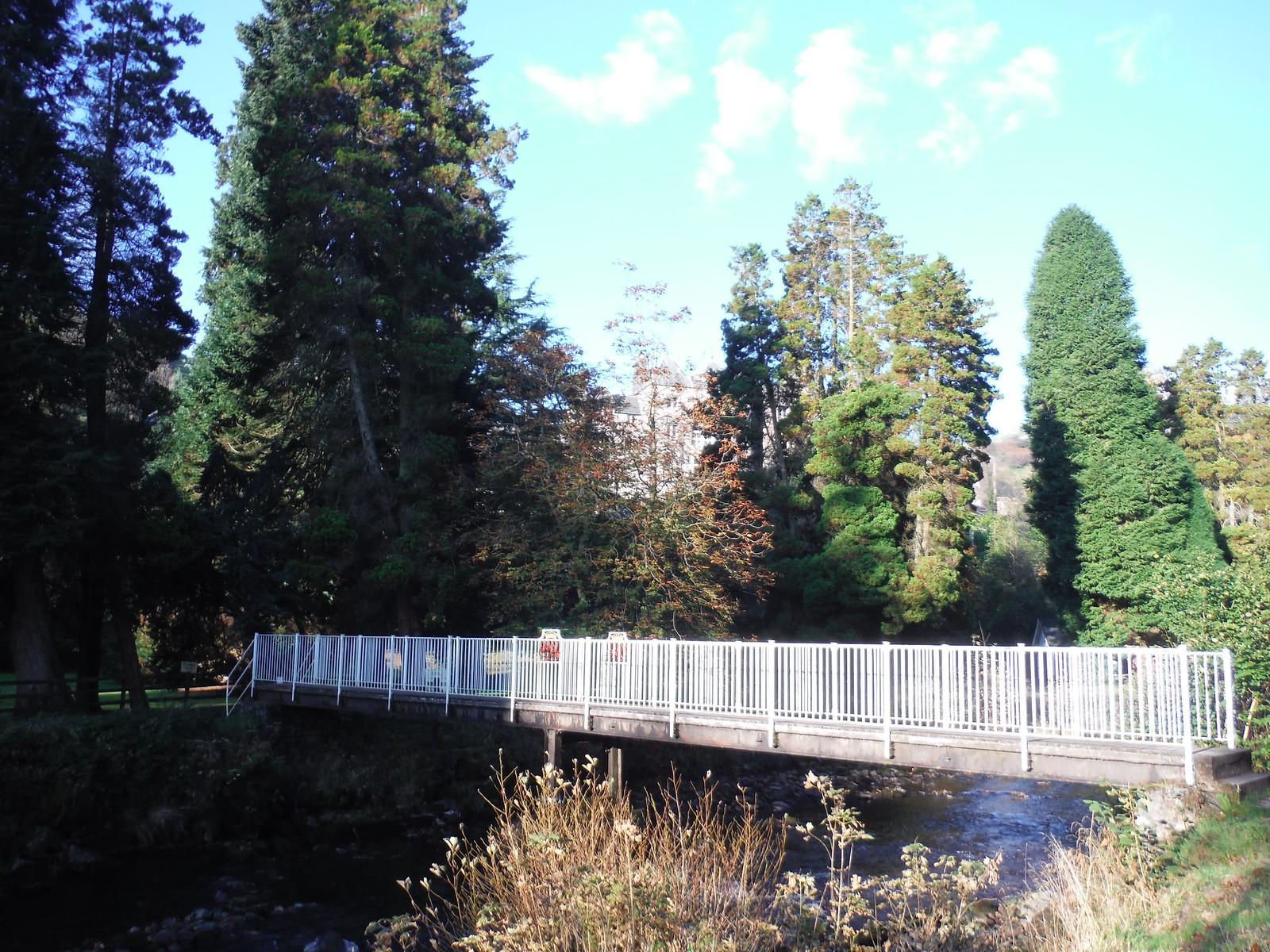Craig y Nos Country Park, bridge over Afon Tawe SWC Walk 280 Henrhyd Falls - Sgwd Henrhyd (Craig y Nos Circular)