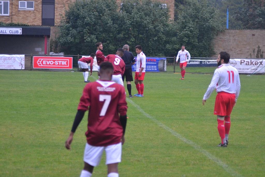 Potters Bar Town FC 6-1 New Salamis FC (13-8-15)