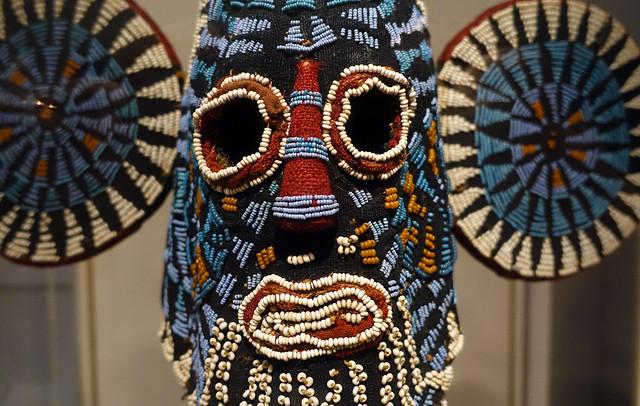 Elephant (Aka) Mask, close