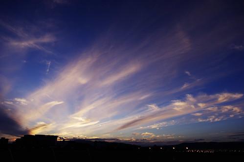 sunset k3 itami 大阪国際空港 伊丹空港