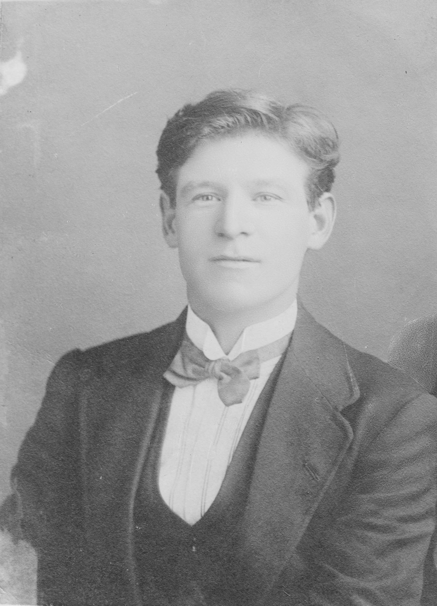Doyle, half-length portrait