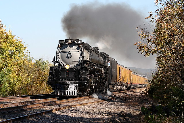 UP 3985 (Alco 4-6-6-4) Eureka, Missouri
