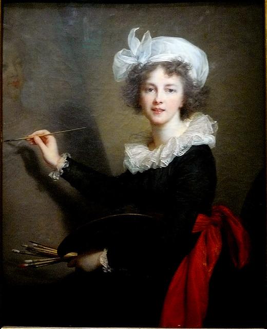 VIGÉE-LE BRUN Elisabeth,1790 - Artiste exécutant un Portrait de Marie-Antoinette (Florence) - 0