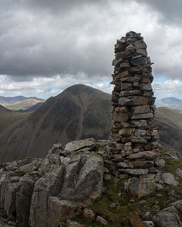 Lower cairn on Lingmell | by johnkaysleftleg
