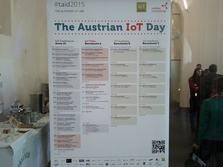 the austrian internet of things day 2015 #taid2015