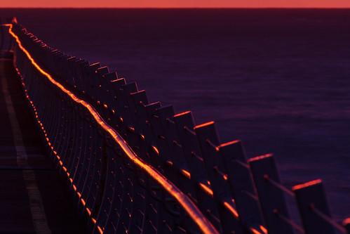 pink canada point dawn bc britishcolumbia victoria vancouverisland pt ogden breakwater