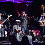 Sun, 01/11/2015 - 10:11pm - Southside Johnny & the Asbury Jukes light up the Cutting Room for an audience of FUV Members. Hosted by Dennis Elsas. Photo by Gus Philippas.