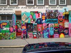 Lastplak mural, Rotterdam