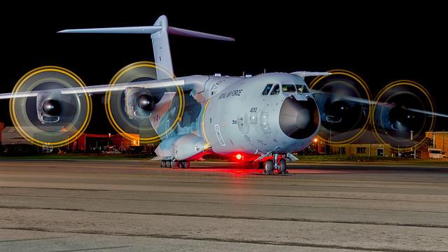 ZM400 Royal Air Force Airbus A400M (BZN\EGVN)