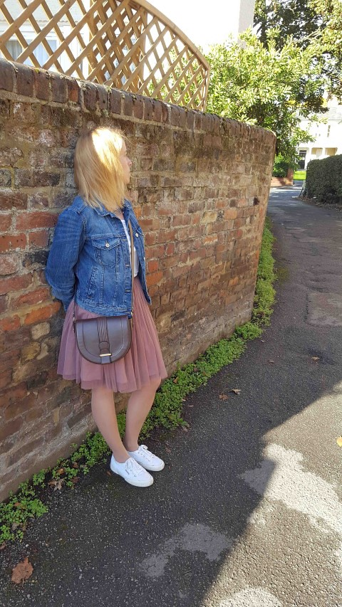 Tulle Skirt and Superga Outfit 1 (Small)