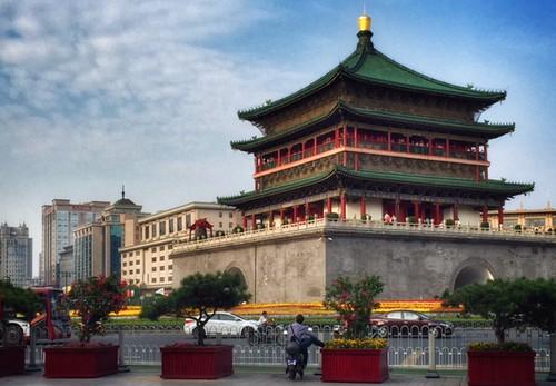 Xi'an, Shaanxi: Bell Tower | by adventurocity