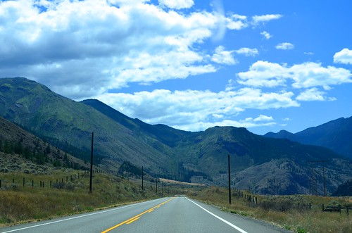 The road through the Fraser Canyon | by alixmahe