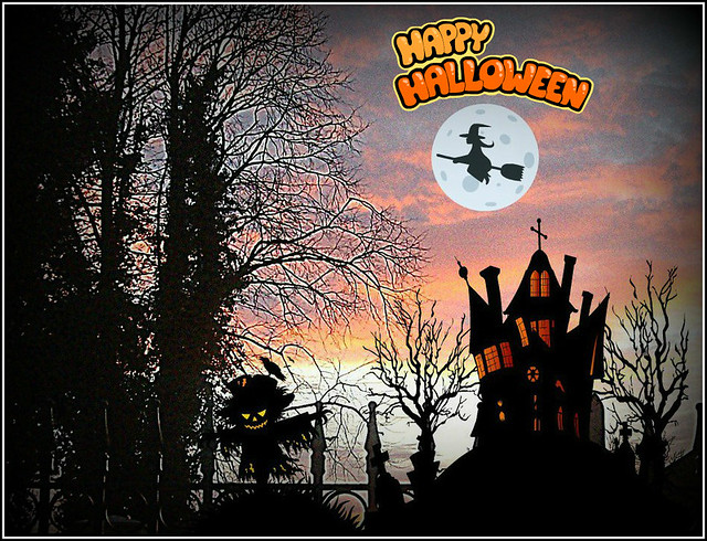 Halloween Composition ..