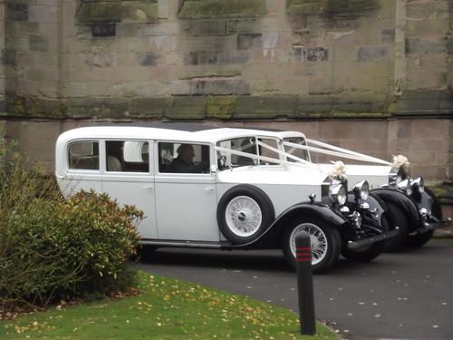 Wedding cars - St George's Church Edgbaston | by ell brown