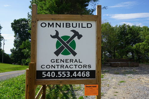 Time for construction to begin! Many thanks for Omnibuild General Contractors