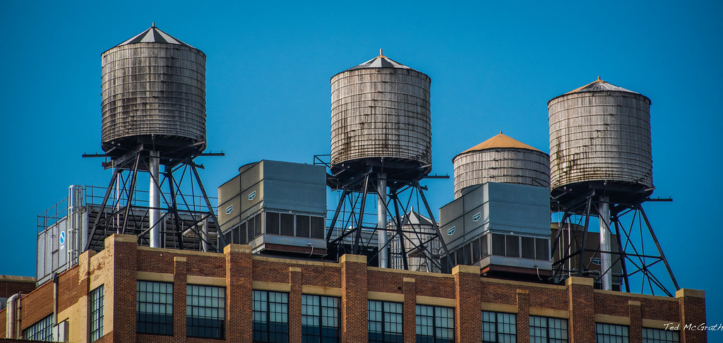 2016 New York City Water Towers These Potable Water