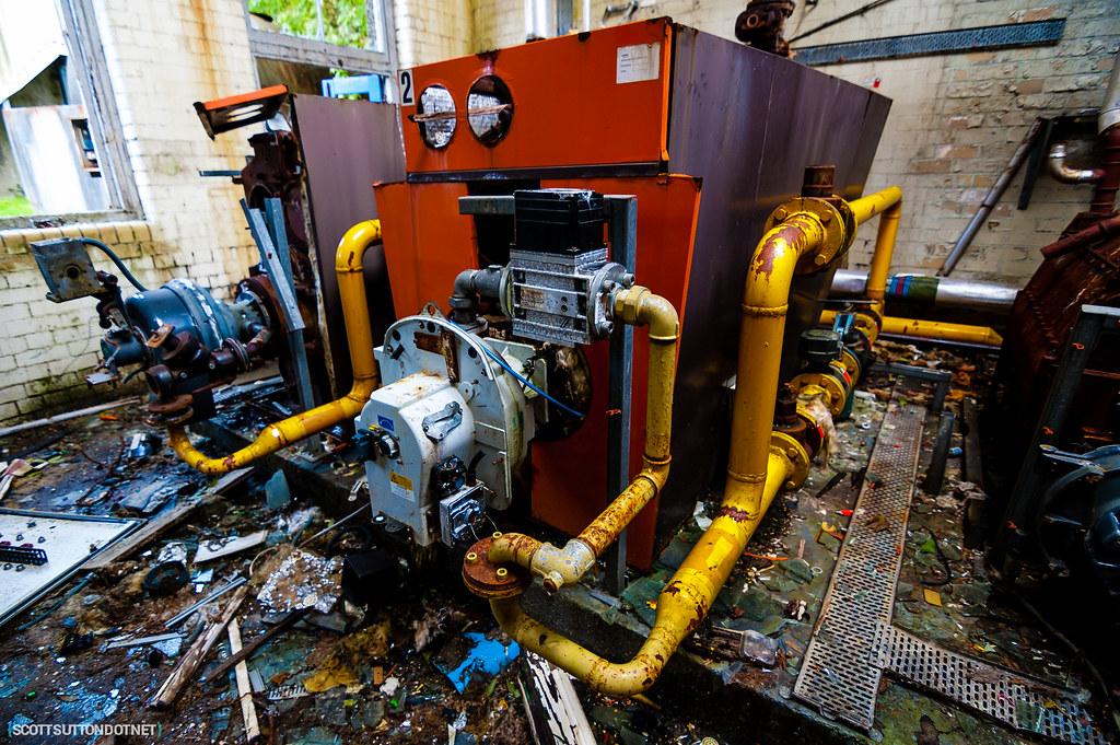Machinery at Mountain Ash Hospital