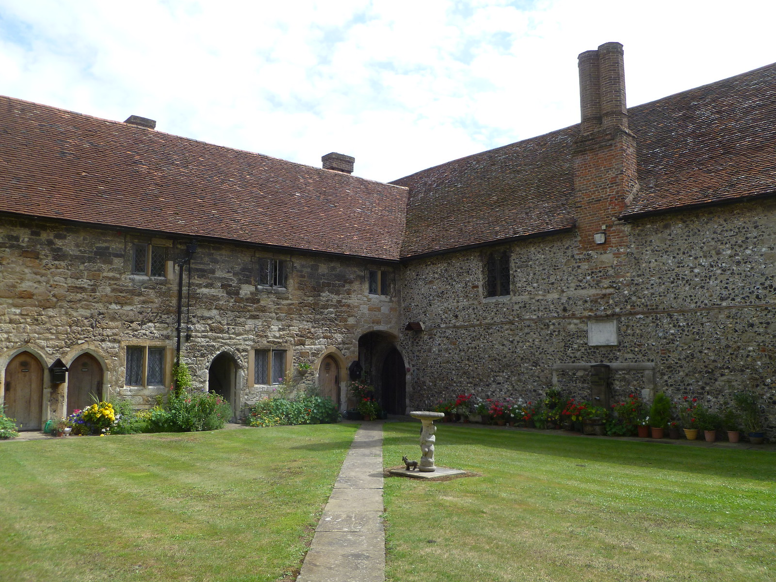 New College of Cobham, Almshouses SWC Walk 173 Cuxton to Halling
