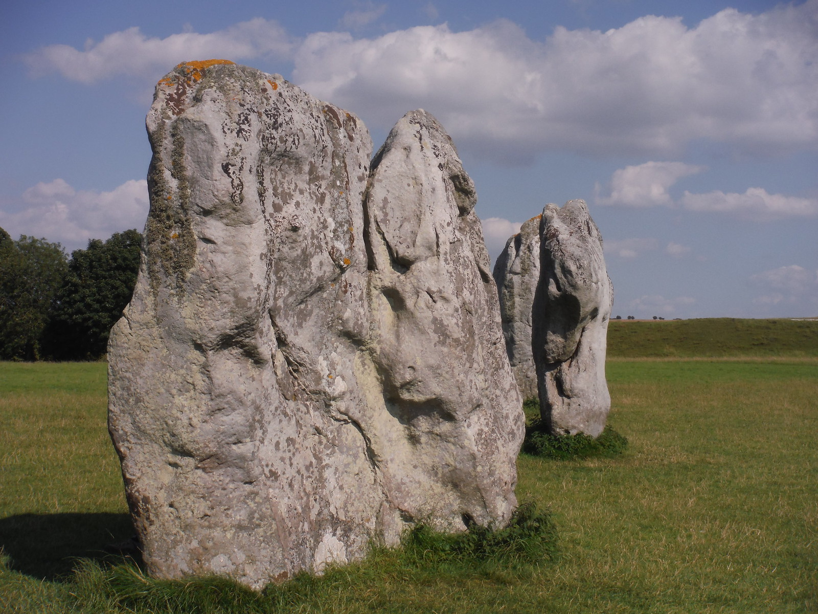 Avebury Standing Stones, SE quartile SWC Walk 255 Pewsey or Marlborough Circular via Avebury