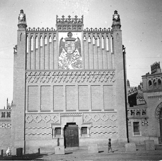 Escuela de Artes hacia 1910. Fotografía de Arturo Cerdá y Rico © Centro de Estudios Giennenses, Diputación de Jaén