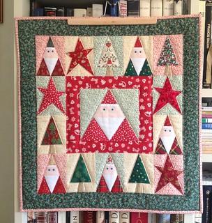 Mini-quilt for Christmas 🎄💫🌟