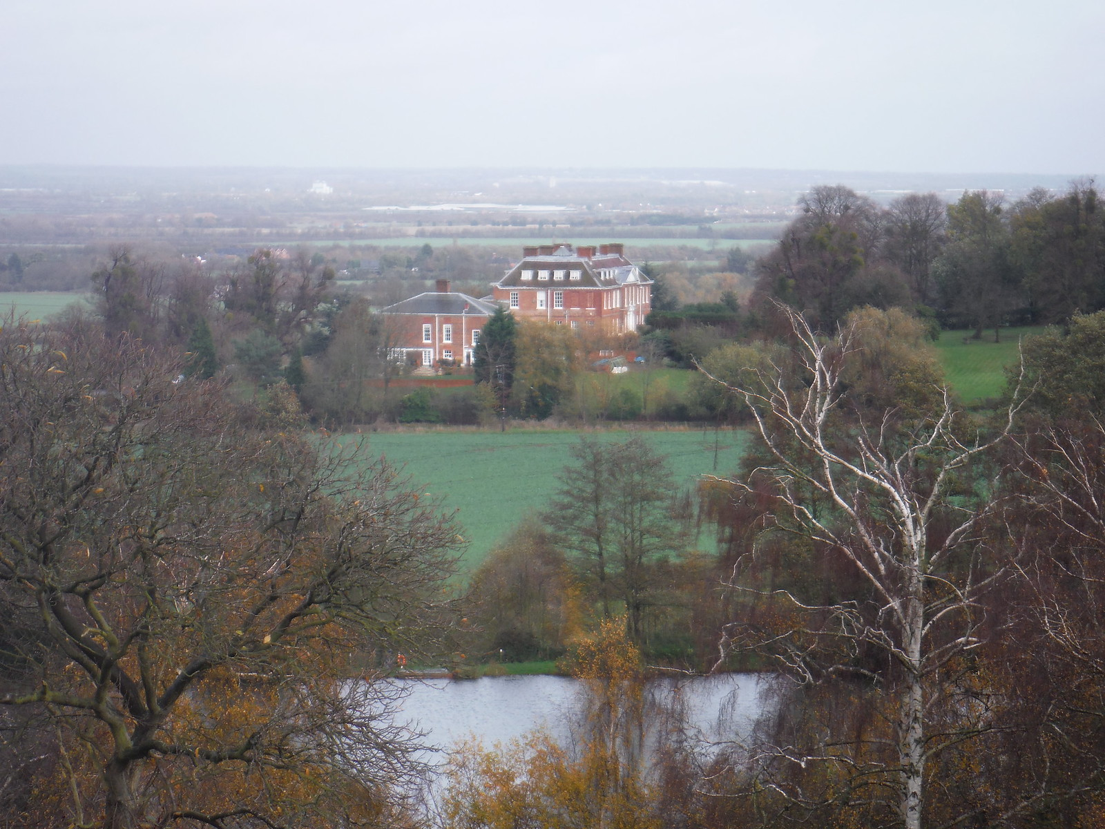 Ampthill Park House and Reservoir SWC Walk 232 Lidlington to Flitwick