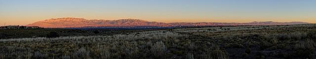 Sandia Mountains pano